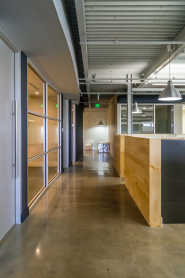 Concrete, Wood, and Steel: the modern office