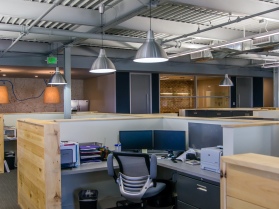 Open Ceiling, Custom Cubicles, Walls of Intrigue