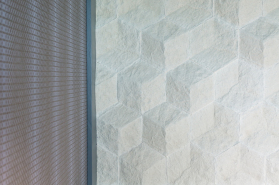 Honeycomb Tile and Irridescent VWC