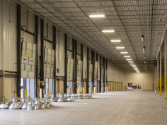 Warehouse Lighting Retrofit