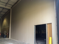 Warehouse Demising Wall with Door