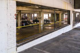 LifeWay Parking Garage Fencing